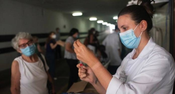 A second wave of COVID-19 is ripping through Brazil, pushing hospitals and ICUs toward collapse and claiming record numbers of daily deaths. — Courtesy photo