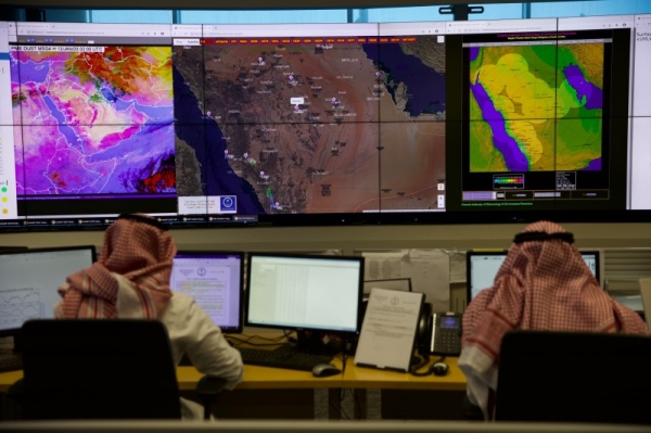 Dr. Ayman Bin Salem Ghulam, head of the National Center of Meteorology, said that the center is using artificial intelligence in monitoring elements of weather that affect lives and properties in all the Kingdom's land, air, and sea environments.