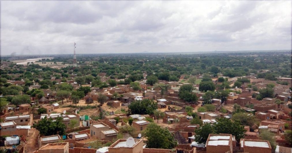 A panoramic view of Al Geneina in West Darfur, Sudan, where the inter-communal violence is reported to have started. — courtesy UNAMID/Hamid Abdulsalam