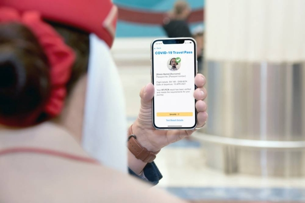 Emirates Airlines Saturday commenced trials of the International Air Transport Association (IATA) Travel Pass — a mobile app to help passengers easily and securely manage their travel in line with any government requirements for COVID-19 testing or vaccine information.