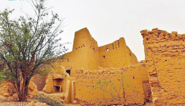 Heritage site in Diriyah, which is set to celebrate the World Heritage Day.