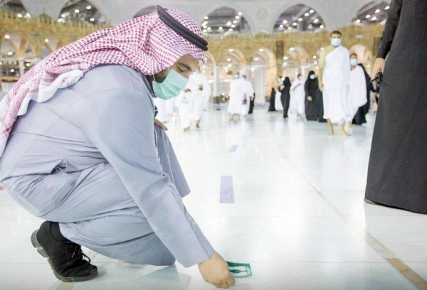 The Presidency will increase the capacity of the Mataf Courtyard to 25 paths.