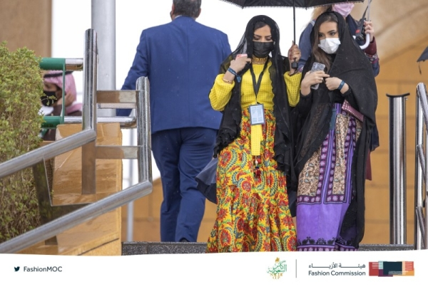 The Fashion Commission at the Ministry of Culture created a dress code for the Saudi Cup last February. (Credit: Fashion Commission)
