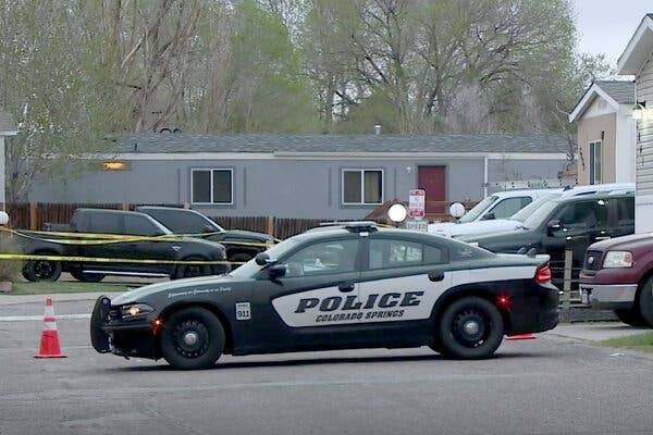 A gunman killed six people at a birthday party in Colorado on Sunday, before shooting himself, police in the United States said. — Courtesy photo
