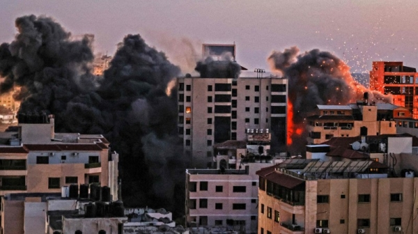 Israeli bombing raids across Gaza have killed at least 35 people, including 12 children, according to Palestinian health officials, who also said 220 people have been injured, as of Tuesday evening. — Courtesy photo