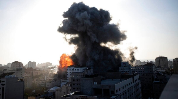 The death toll in Gaza rose to 181 after Israeli airstrikes killed 33 Palestinians, including 13 children, early on Sunday as the deadly clashes entered into the seventh day. — Courtesy file photo