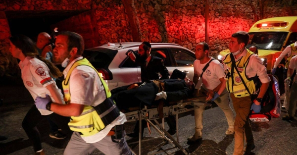 Two Israeli citizens have died and more than 150 were injured after a tiered seating structure collapsed at a West Bank synagogue during prayers for Shavuot, a major Jewish holiday. — Courtesy photo