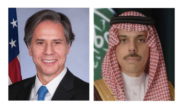 Palestine top on agenda as Prince Faisal speaks to US secretary of state over phone