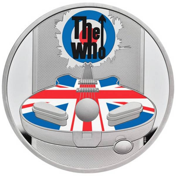 The Royal Mint, the original maker of UK coins, has launched a new range of collectable coins celebrating the iconic British band — The Who. Pictured the 2021 UK One Ounce Silver Proof Coin.