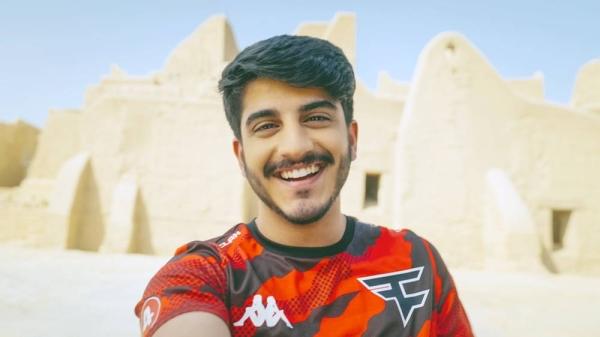 Faze Clan's Saudi esports athlete Virus (real name Talal Almalki) will play in GWB.