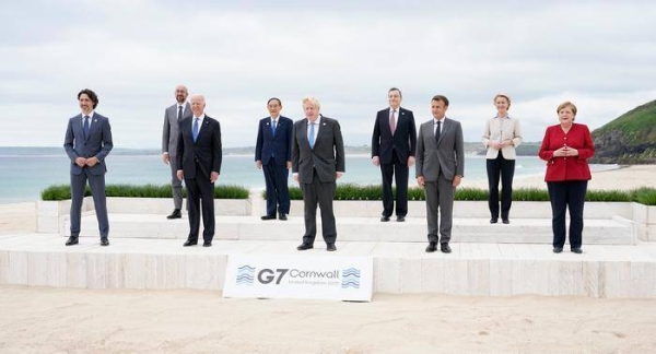 British Prime Minister Boris Johnson opened the G7 summit on Friday saying the world needs to learn the lessons of the pandemic, and not repeat the mistakes from the last global recession, when recovery was unequal in different parts of society. — Courtesy photo