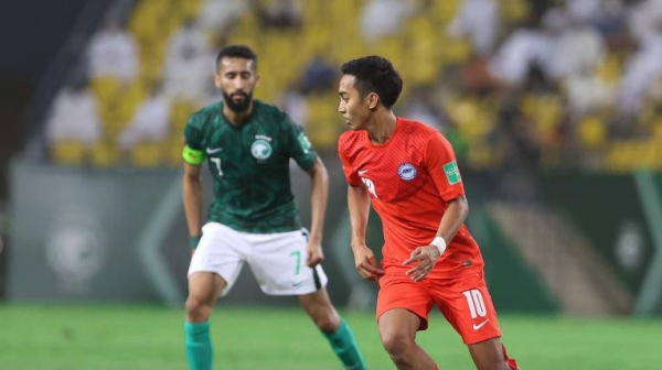 The win means Saudi Arabia go into their final game against Uzbekistan with 17 points from an unbeaten run of seven matches, with a draw in four days' time enough to secure the top spot while Singapore end the campaign on seven points. — Courtesy photos