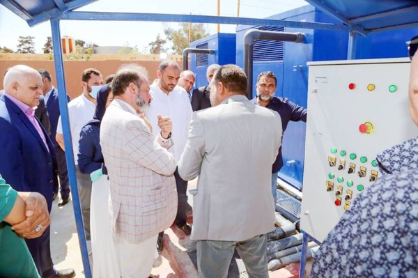 The United Nations Development Program (UNDP), through the Stabilization Facility for Libya (SFL), installed a sewage treatment plant with a capacity of 400 m³/day at the National Heart Center (NHC) in Tajoura, Libya.