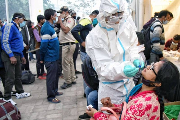 India on Monday reported 70,421 new COVID-19 infections over the past 24 hours, the lowest since March 31, data from the Health Ministry showed.