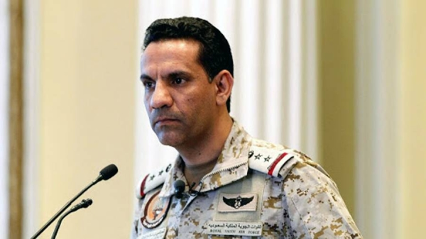 Coalition spokesman Brig Gen. Turki Al-Maliki