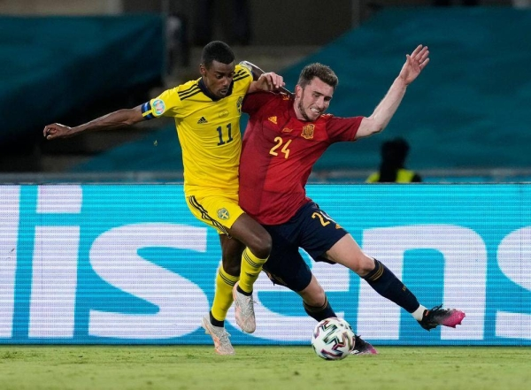 Spain controlled possession but couldn't convert any of their chances as Sweden held them to a 0-0 draw in Seville. — Courtesy photo