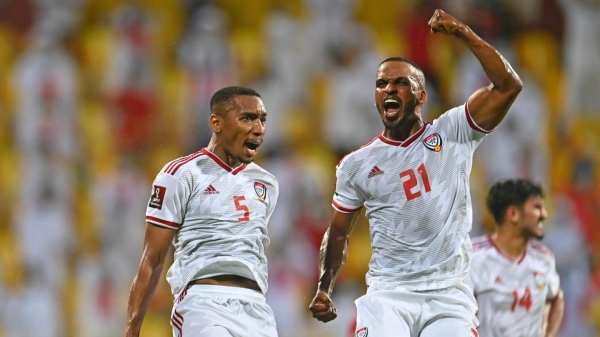 The United Arab Emirates survived a late scare to book their place in the final round of the Asian Qualifiers for the FIFA World Cup Qatar 2022 with a 3-2 victory against Group G rivals Vietnam at Zabeel Stadium on Tuesday. — Courtesy photo