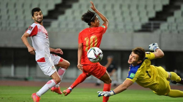 Tajikistan fell short of advancing to the final round of the FIFA World Cup Qatar 2022 Qualifiers and directly to the AFC Asian Cup China 2023 despite a 4-0 win over Myanmar on Tuesday which saw them finish second in Group F of the Asian Qualifiers. — Courtesy photo