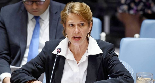 File photo of Christine Schraner Burgener, Special Envoy for Myanmar. — courtesy UN Photo/Loey Felipe