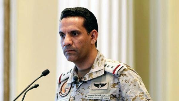 Arab Coalition spokesperson Brig. Gen. Turki Al-Maliki.