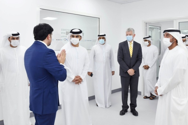 The state-of-the-art laboratory, which was inaugurated by Sheikh Ahmed bin Saeed Al Maktoum, chairman of Dubai Civil Aviation Authority and Sheikh Mansoor bin Mohammed bin Rashid Al Maktoum, chairman of Dubai Sports Council, is the outcome of close cooperation between Dubai Airports, the Dubai Health Authority (DHA) and Pure Health. — WAM photo