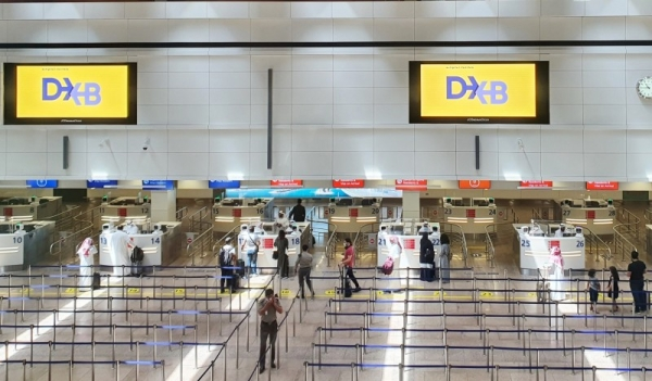 Dubai International Airport's Terminal 1 and Concourse D welcomed their first passengers on Thursday morning after 15 months with the arrival of flynas flight XY201 fromRiyadh. — WAM photos
