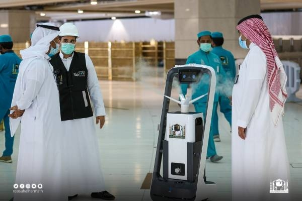 Grand Mosque sees growing use of robots in serving pilgrims
