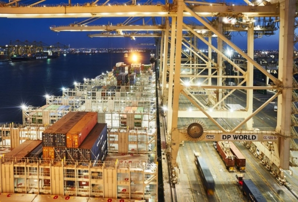 P World Limited handled 19.7 million TEU (twenty-foot equivalent units) across its global portfolio of container terminals in the second quarter of 2021. — WAM photo