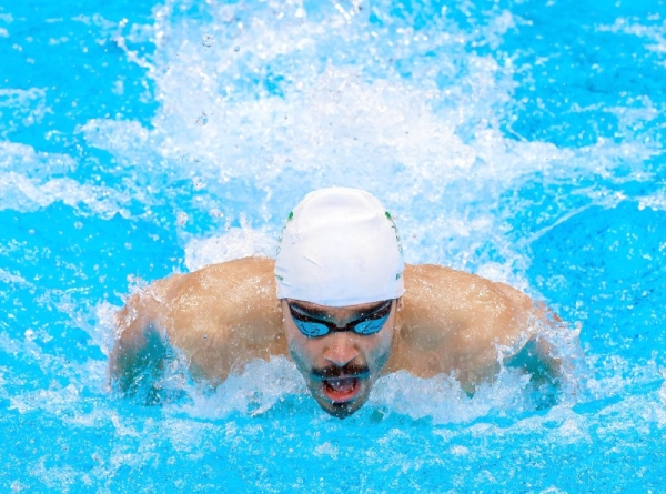 Saudi swimmer Yousif Bu Arish ranked 55th in the men's 100m butterfly race at the Tokyo Olympics after covering the distance with a time of 56.29 seconds.