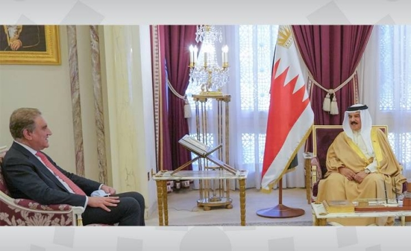 King Hamad Bin Isa Al Khalifa underscored on Thursday the depth of historic relations between Bahrain and Pakistan which are based on mutual understanding, confidence, respect and cooperation. — BNA photo