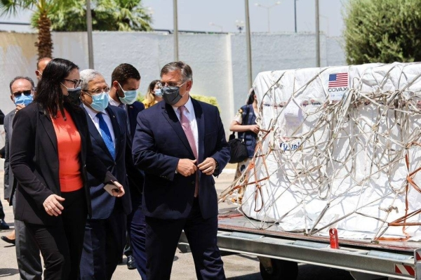 The United States on Friday delivered one million doses of the Moderna vaccine to Tunisia through the COVAX mechanism to help it combat the devastating coronavirus pandemic, the US Embassy in Tunis said in a statement.