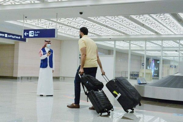Saudi airports report 66.5% drop in outgoing international flights in 2020