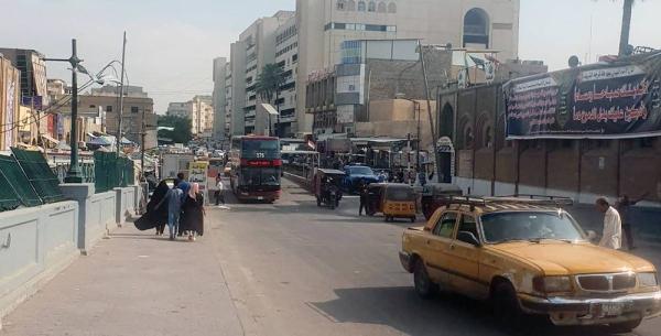 A once busy street in Baghdad, Iraq. — courtesy UNAMI