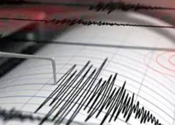 An earthquake of magnitude 6.1 struck about 310 km (190 miles) south southeast of Port Blair in Andaman and Nicobar island.