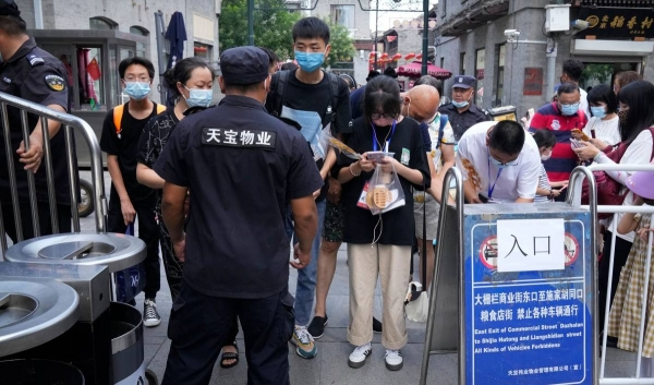 China's spiraling Delta variant outbreak has reached Wuhan, the original epicenter of the pandemic, prompting citywide coronavirus testing as authorities scramble to contain the city's first reported local infections in more than a year. — Courtesy file photo