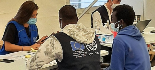 IOM is providing newly arrived migrants with emergency shelter and assistance on the Canary Islands. — Courtesy file photos