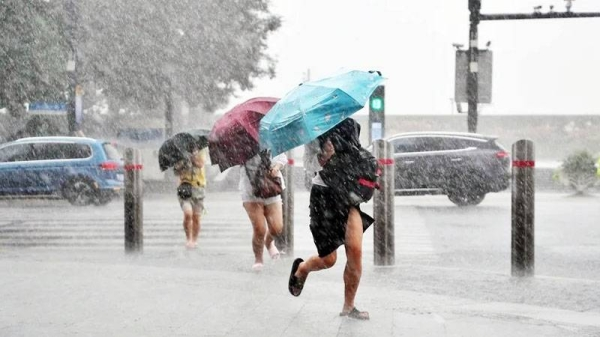 Nearly 330,000 people in Shanghai have been evacuated as the city braced for heavy rains and strong winds brought by Typhoon Chanthu, Chinese authorities announced Tuesday.
