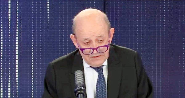 French Foreign Minister Jean-Yves Le Drian described himself on France Info radio on Thursday morning as