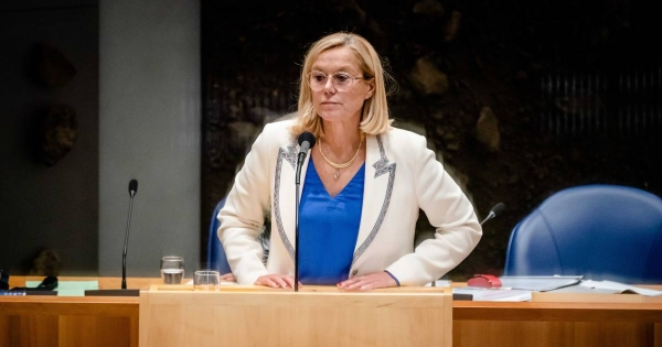 File picture of  Dutch Minister of Foreign Affairs Sigrid Kaag.
