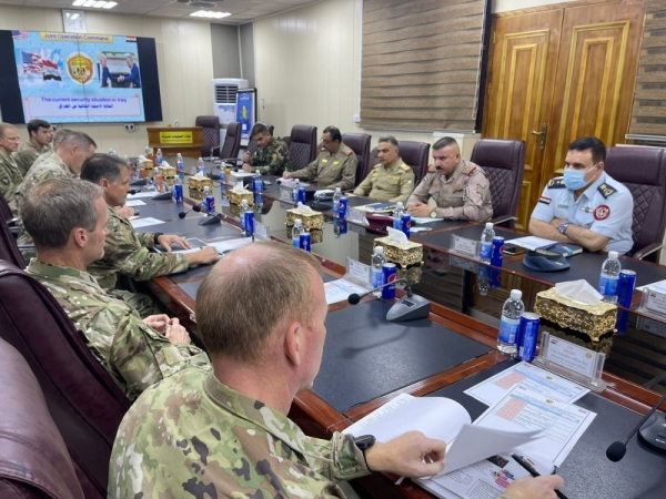 Iraq and the US agreed to lower level of command representation of the international coalition in Iraq by end of this month. — Courtesy photo