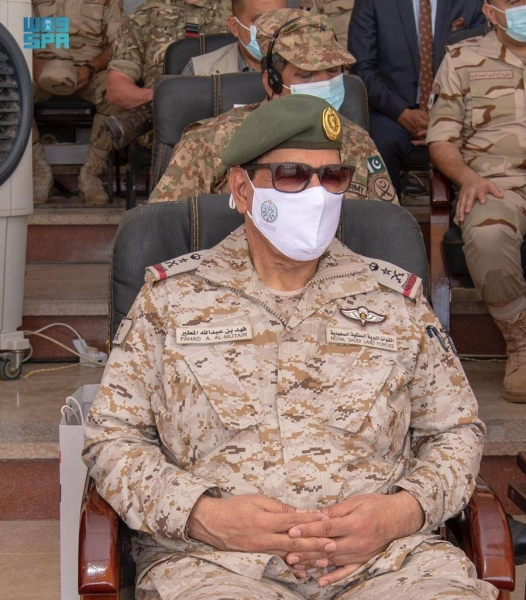 Saudi commander attends final session of Bright Star exercises in Egypt