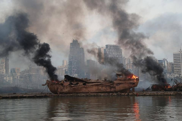 A huge blast at Beirut's port on August 4, 2020, killed more than 200 people and injured thousands more.  — File photo