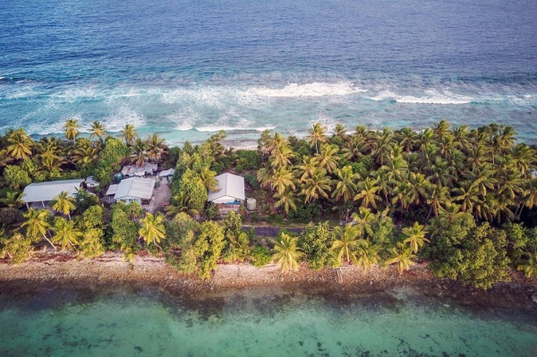 The South Pacific archipelago of Tuvalu is highly susceptible to rises in sea level brought about by climate change. — courtesy UNDP Tuvalu/Aurélia Rusek