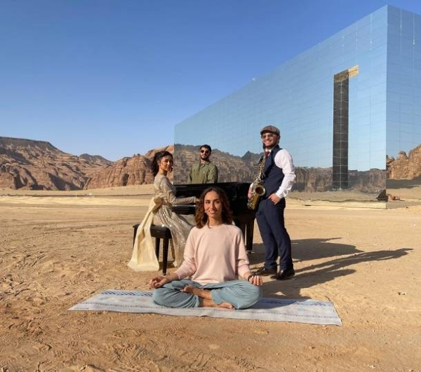 AlUla's events calendar, published on Sunday, highlights four festivals, such as Winter at Tantora, which is back by popular demand and celebrates heritage, AlUla Skies, AlUla Arts and AlUla's Wellness Festival. — Courtesy photo