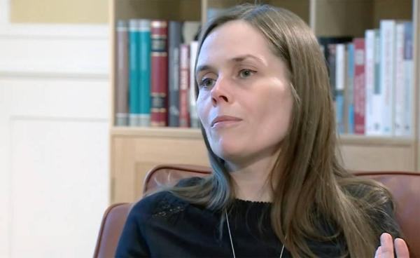 Iceland's Prime Minister Katrin Jakobsdottir