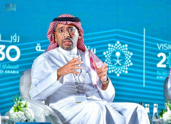 Minister of Human Resources and Social Development Ahmed Al-Rajhi.