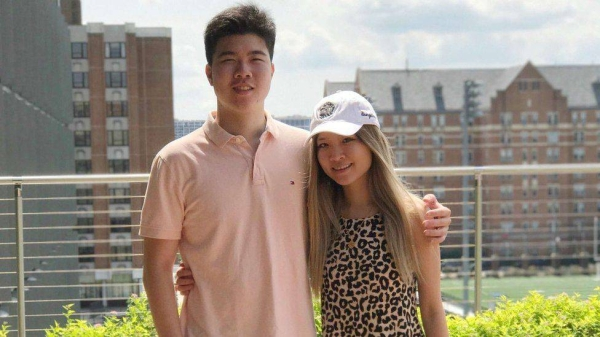 US citizens Victor and Cynthia Liu, seen here in a 2017 photo, have now been released.